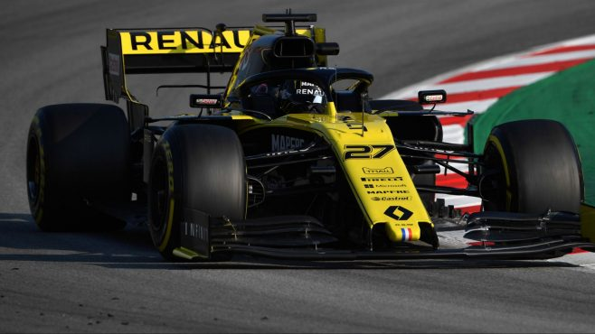 F1 2019 Pre-Season Testing: Renault on Top of Speed Sheet as